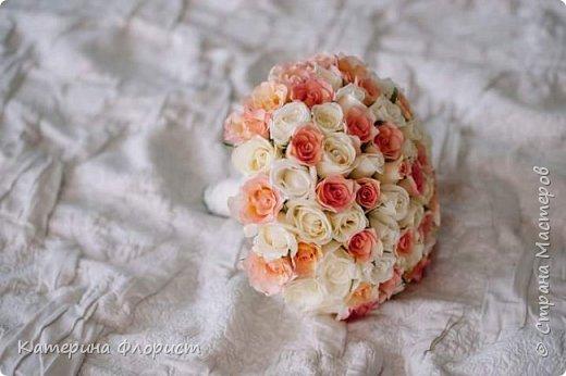 Свадебные букеты (мои работы) фото 4