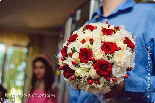 Свадебные букеты (мои работы) фото 24