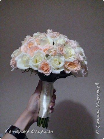 Свадебные букеты (мои работы) фото 35