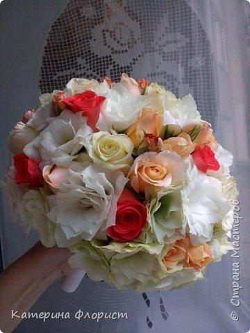 Свадебные букеты (мои работы) фото 36