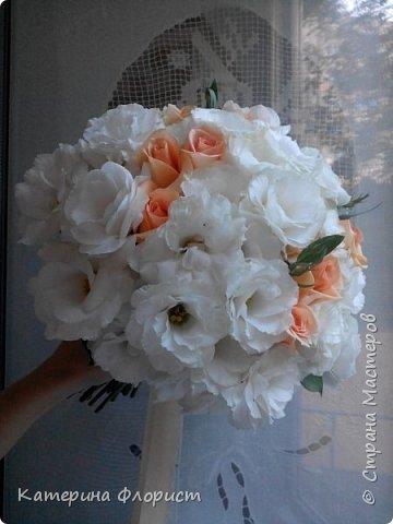 Свадебные букеты (мои работы) фото 20