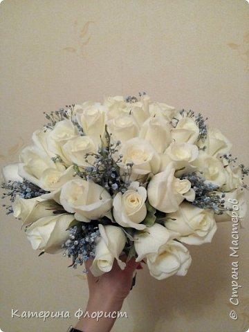 Свадебные букеты (мои работы) фото 19