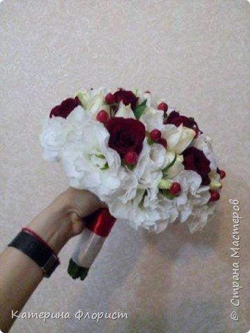 Свадебные букеты (мои работы) фото 9