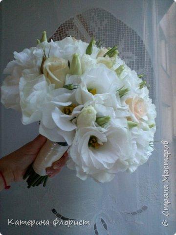 Свадебные букеты (мои работы) фото 7