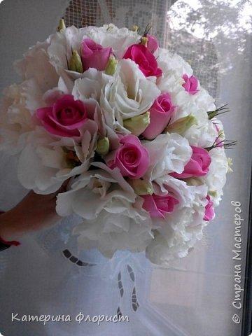 Свадебные букеты (мои работы) фото 6
