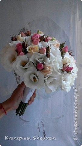 Свадебные букеты (мои работы) фото 2
