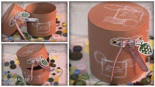 Коробочка для подарка или шкатулка из бумаги/ картона