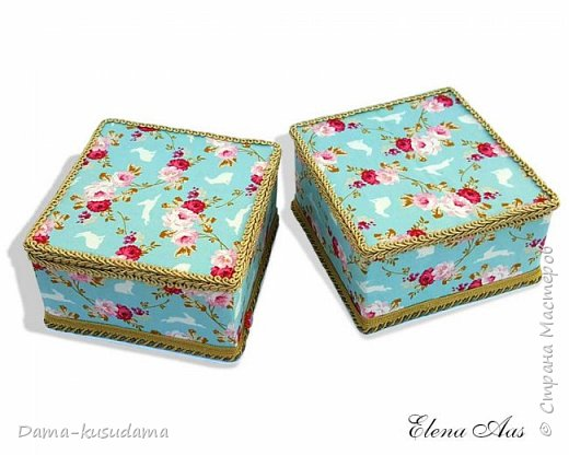 Сделала коробочки на подарки для себя и своей семьи.Муж считает, что подобные коробочки у шейхов в кабинетах. Поэтому так и назвала наборчик. Коробки сделаны их картона, обклеены тканью,тесьмой и дно -материал типа резины.  фото 8