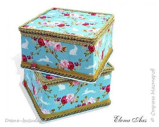 Сделала коробочки на подарки для себя и своей семьи.Муж считает, что подобные коробочки у шейхов в кабинетах. Поэтому так и назвала наборчик. Коробки сделаны их картона, обклеены тканью,тесьмой и дно -материал типа резины.  фото 10