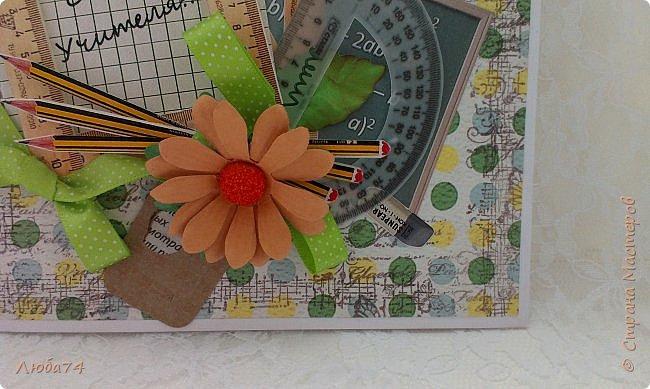 Всем, доброго дня! Давно хотела сделать открытки в осеннем стиле, с осенними листочками. И вот, моя мечта осуществилась! Предлагаю посмотреть три мои новые открытки  к Дню Учителя. Размер открыток 15х15 см.  фото 33