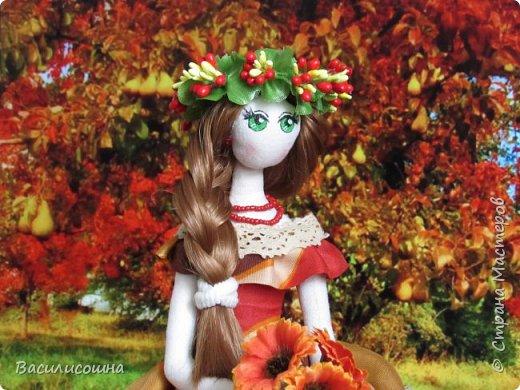 Текстильная кукла Злата фото 1