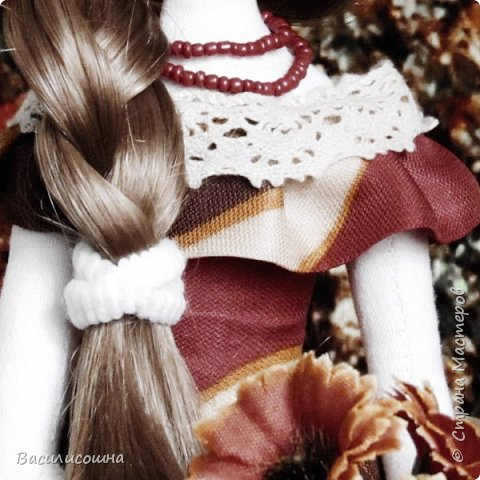 Текстильная кукла Злата фото 4