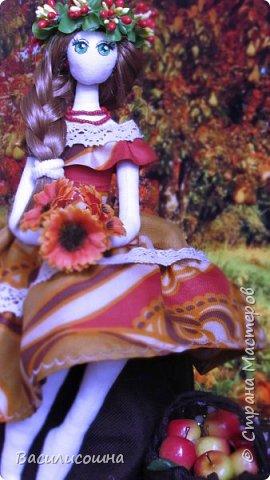 Текстильная кукла Злата фото 3