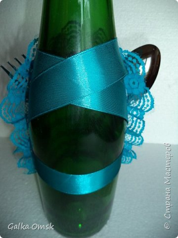 Одёжка на бутылку в подарок повару .Вилки и ложки - пластиковые фото 12
