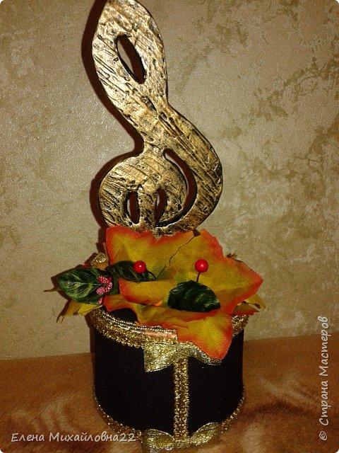 """Подарки на День Учителя . Кукла - шкатулка и просто шкатулка с символом """" Скрипичный ключ"""" фото 19"""