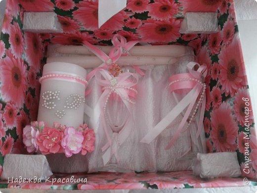 Всем привет! В предыдущем посте я показала большой свадебный набор. Теперь я хочу показать упаковку для того самого набора. Поскольку молодые будут хранить всю жизнь памятные вещи со свадьбы, нужно было их как-то упаковать. И вот что получилось фото 8