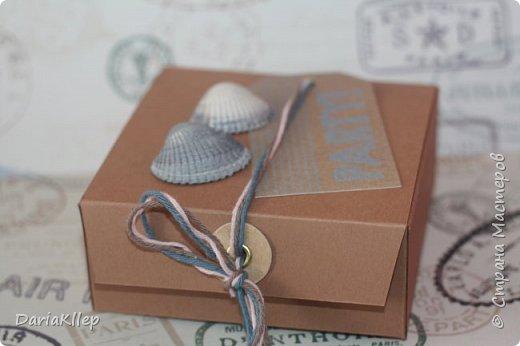 Стильная коробочка для подарка из листа А4 фото 4
