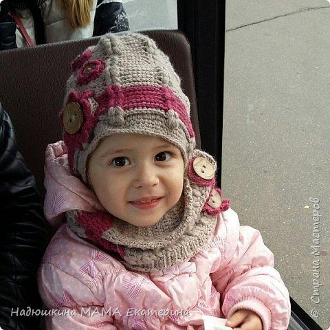 Вязаный комплект для Дочурки фото 1