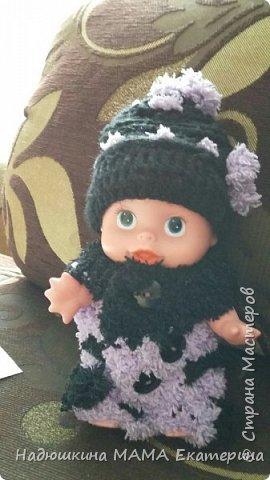 Связала одежку для куколки