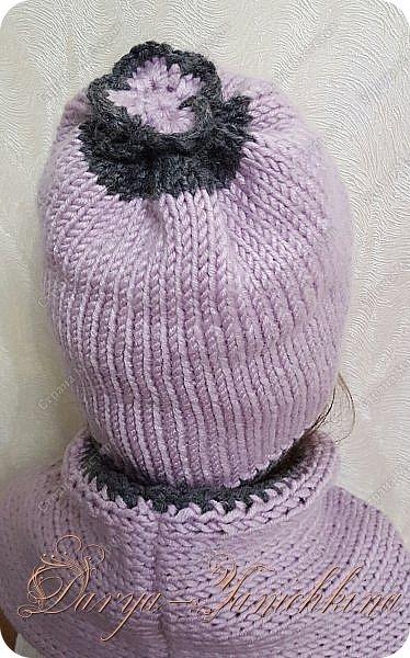 шапка и снуд фото 2