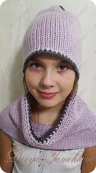 шапка и снуд фото 1