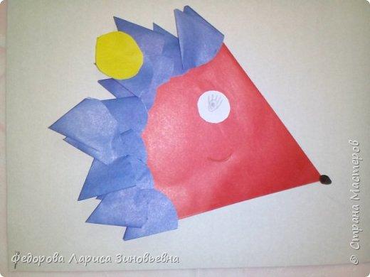 Добрый день всем жителям Страны Мастеров. Продолжаем осеннюю тематику. На этот раз мы сделали со своими учениками вот таких ежиков в технике оригами. фото 1