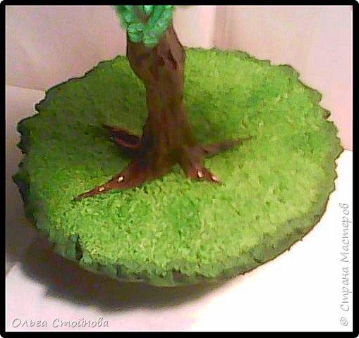Виноградное дерево из бисера фото 8