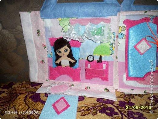 дом-книга для куклы фото 3