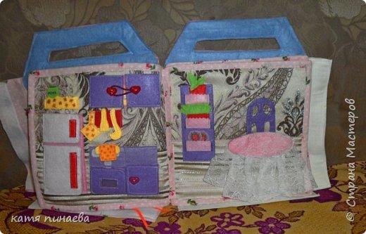 дом-книга для куклы фото 5