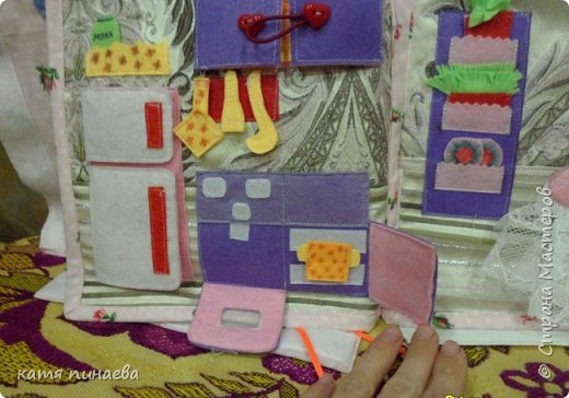 дом-книга для куклы фото 7