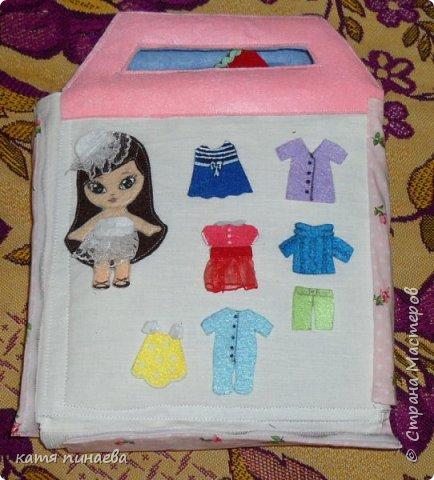 дом-книга для куклы фото 16