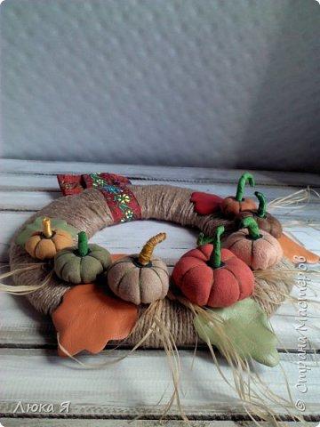 Вот и осень пришла...Появились поделочки на эту тему. фото 6