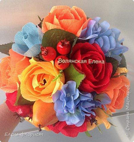 А вот и анемоны..очень интересно их делать,несложно и результат впечатляет,очень красивые цветы А навеяло сделать эту работу-вдохновившись работами моего кумира-Ларисы Тепляковой фото 7