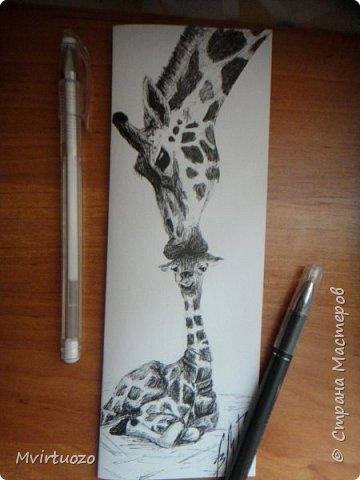 День добрый! Я снова к вам с порцией открыточек, рисованных гелевой ручкой. фото 4