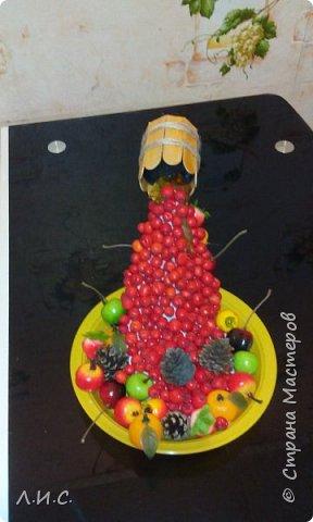 Поделка в школу на осеннюю выставку. фото 1