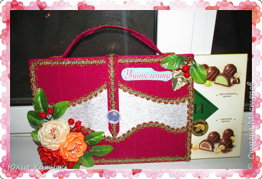 Подарки из конфет фото 5