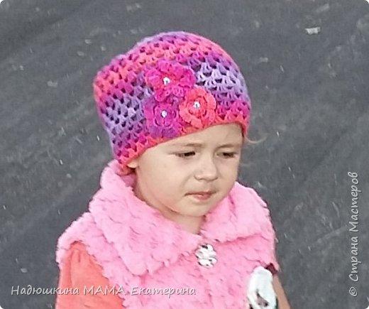 Летняя шапочка для доченки фото 1