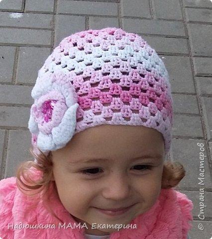 Летняя шапочка для доченки фото 2