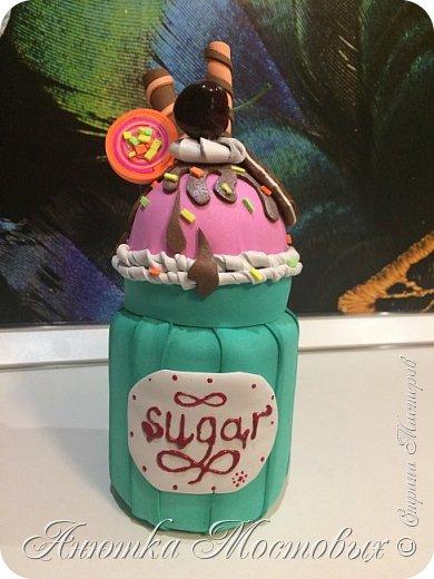 Сахарница из банки)  фото 2