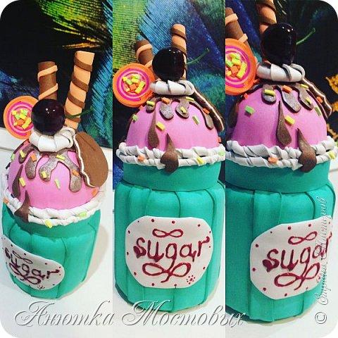Сахарница из банки)  фото 1