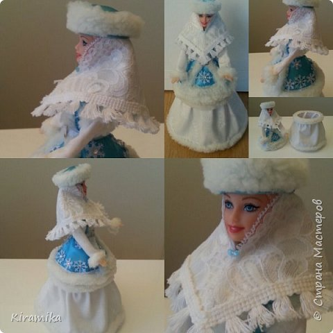 Кукла-шкатулка «Зимушка-зима»
