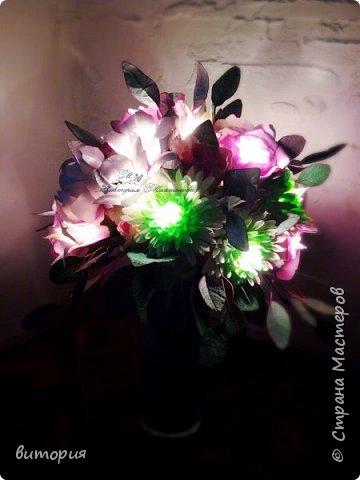 Светильник из фоамирана фото 5