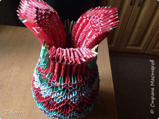 Распускающийся бутон- ваза фото 4