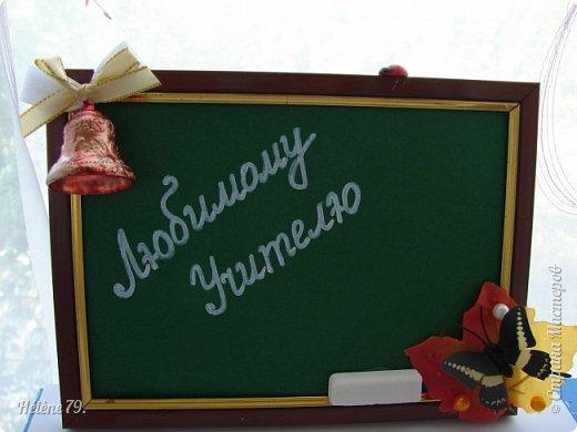 Здравствуйте, дорогие соседи по Стране!  Сделала небольшие сувенирчики  для Ярмарки Приюта. Универсальная подпись для праздников ( День Учителя, 1 сентября и др)  Листочек с капельками из геля и полубусинами, фигурка лебедя и муз. инструмент-ёлочная игрушка. фото 4