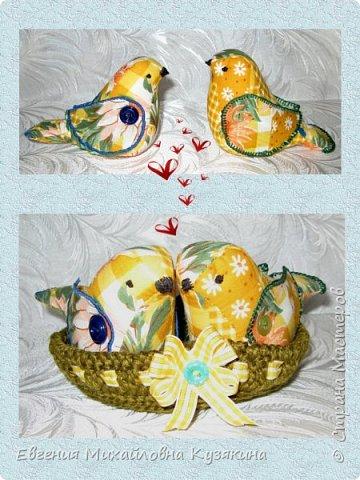 """Приветствую гостей моего блога! Увидела на просторах интернета птичек, которые мне очень понравились и долго оставались в """"хотелках"""". Вот наконец настал тот час, когда я могу показать, какие птички получились в моём исполнении. А это ссылка на птичек, которые меня вдохновили на их повторение http://www. < ссылка удалена в соответствии с п. 2.4. <a href=""""/print/regulations"""">ПС.</a> > /topic/707969-kak-sdelat-suvenir-vesennie-ptichki? фото 1"""