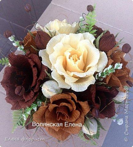 А вот и анемоны..очень интересно их делать,несложно и результат впечатляет,очень красивые цветы А навеяло сделать эту работу-вдохновившись работами моего кумира-Ларисы Тепляковой фото 10