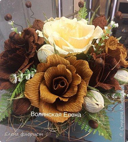 А вот и анемоны..очень интересно их делать,несложно и результат впечатляет,очень красивые цветы А навеяло сделать эту работу-вдохновившись работами моего кумира-Ларисы Тепляковой фото 12