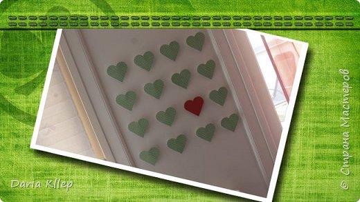 "Декорируем стену.  Красивое панно ""СЕРДЦА"" . Decorate the wall. Beautiful Pano of the ""HEART"""