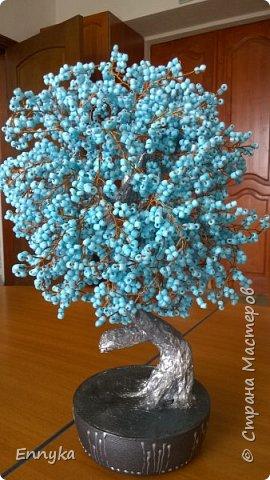 попросили  тут как то у меня  бирюзовое  дерево .....  фото 3