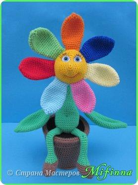Цветик - Семицветик. Автор игрушки Nastya oren. фото 2